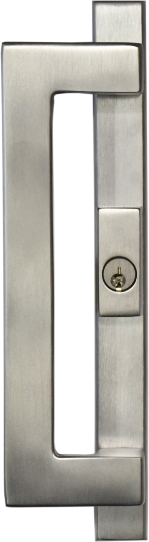 Contemporary Exterior Handle with Lock